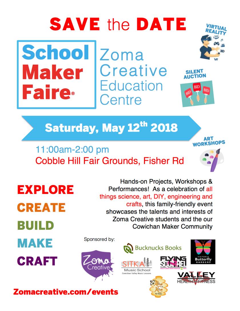 School Maker Faire poster